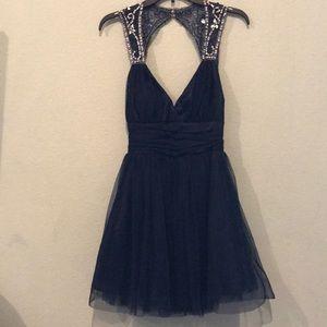 Camille La Vie Dresses - Camille Navy formal dress